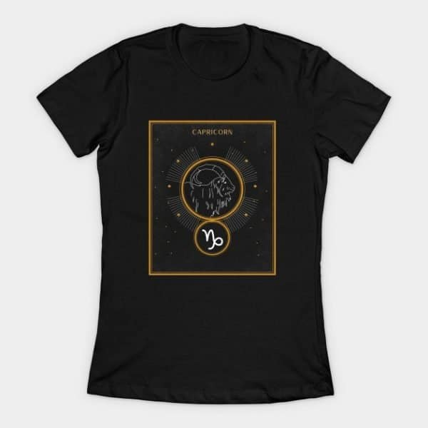 Capricorn Shirt Womens