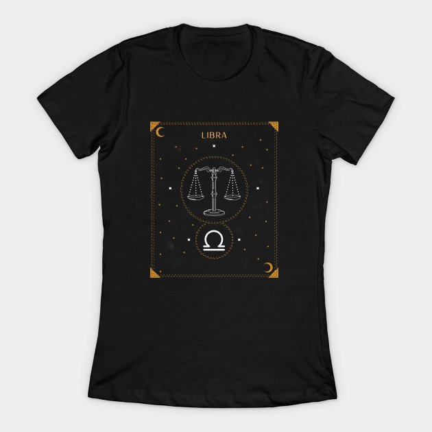 Libra Shirt Birthday Gift Idea