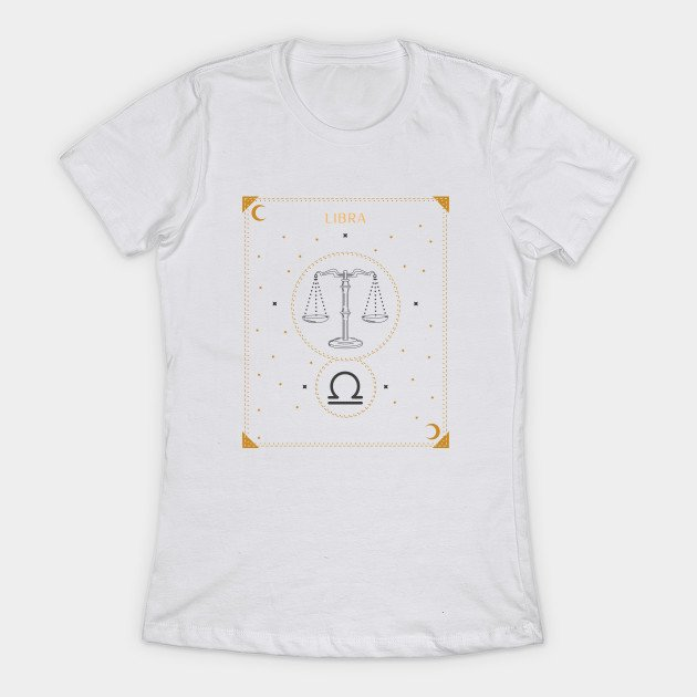 Libra T-Shirts for Ladies