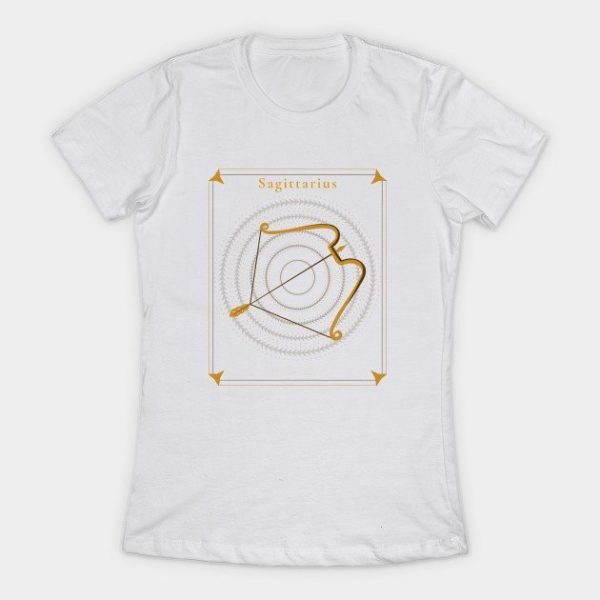 Sagittarius T Shirt for Ladies