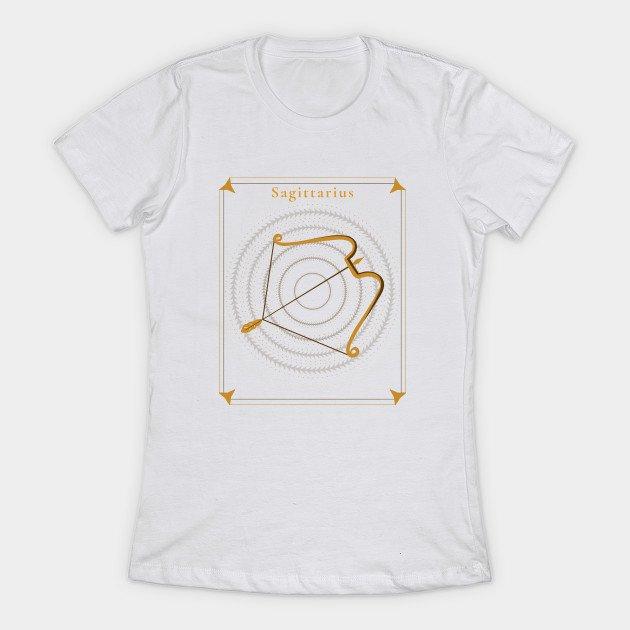Sagittarius T Shirt for Ladies