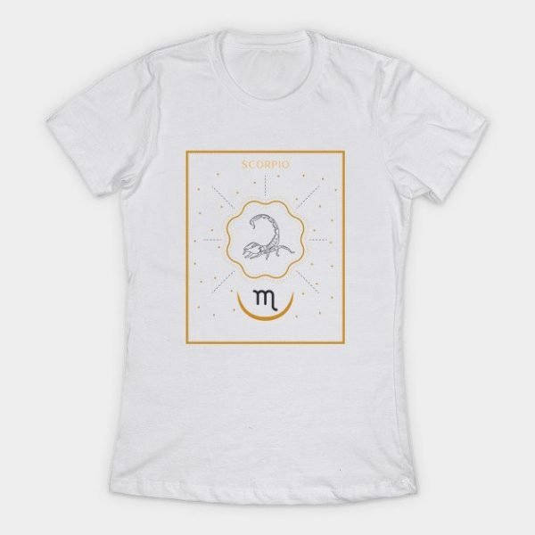 Scorpio T Shirt Womens