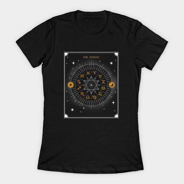 Zodiac Wheel Shirt for Ladies