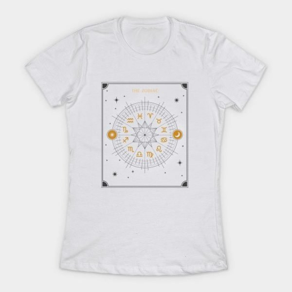 Zodiac Wheel T Shirt