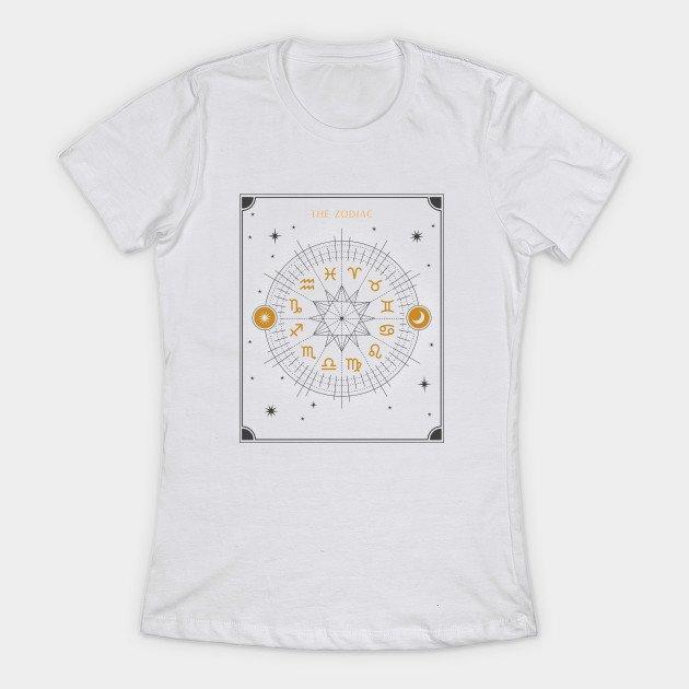 Zodiac Wheel T Shirt