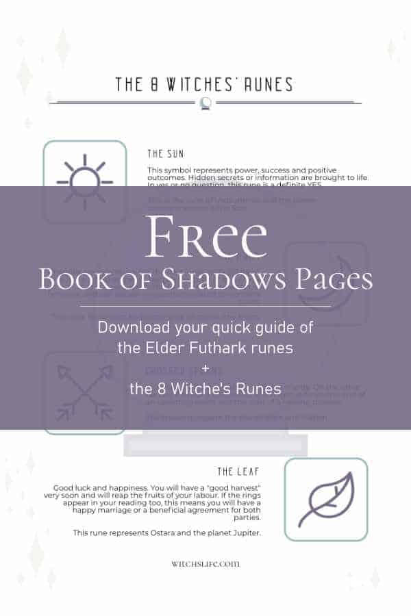 Free Printable Book of Shadows Pages