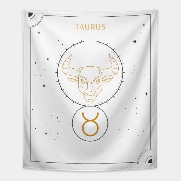 Taurus Tapestry White